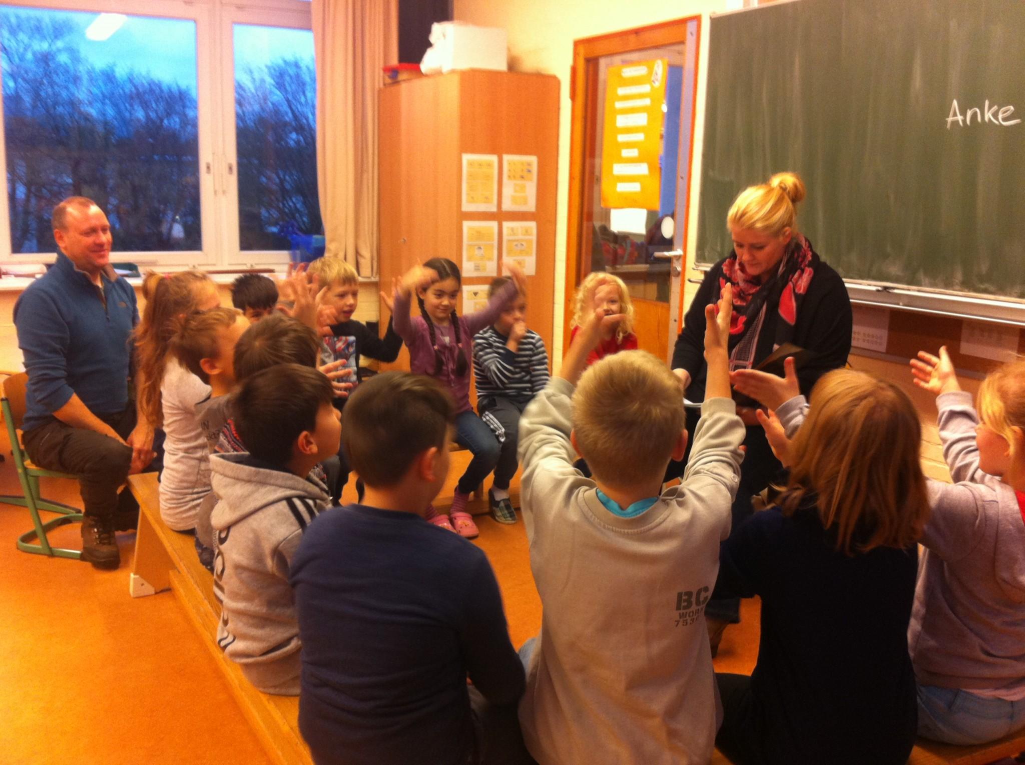 Anke Harnack zu Besuch in unserer Schule