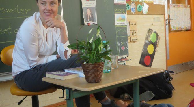 Katja Kraus liest vor