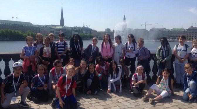 Ausflug zum Hamburger Rathaus