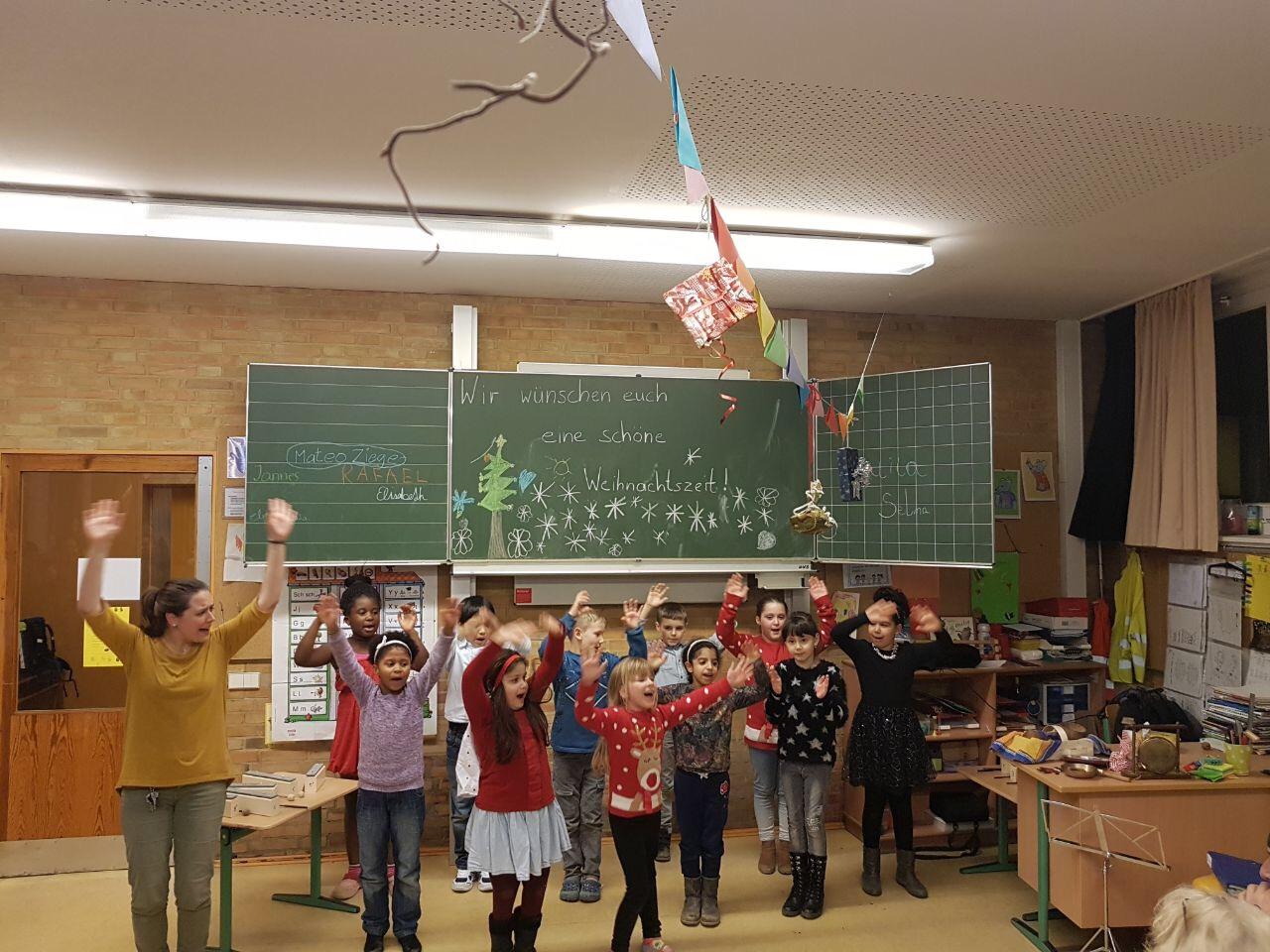 Weihnachtsbasar | Grundschule Potsdamer Straße
