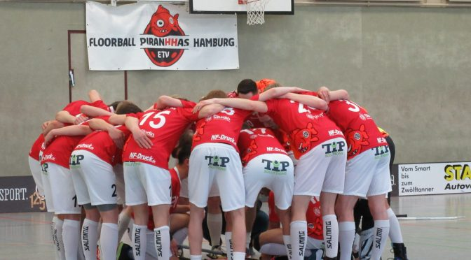 Floorball-Turnier Hoisbüttel am 4.11.2019
